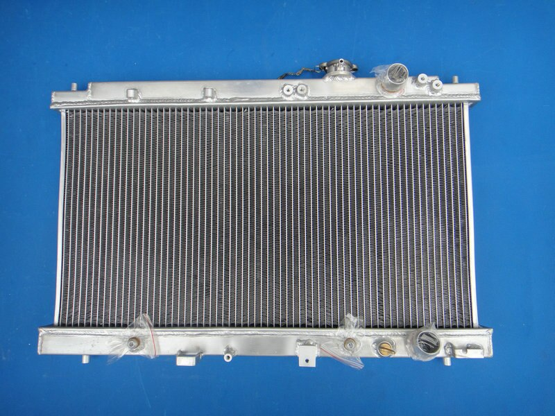 High Performance Aluminum Radiator For Honda Integra Acura DC2 B18 GSR RS LS 1994-2001 94 95 96 97 98 99 00 01