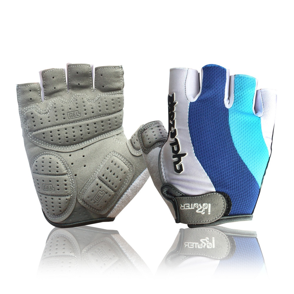 Guantes de ciclismo para hombre y mujer, XXL cyclezone para ciclismo de montaña mtb, guantes de medio Dedo de Gel de talla grande