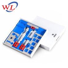 Montage dessai de carte mère de support de carte PCB de téléphone de WL MJ A22 pour liphone 5C/5 S/6G/6 P/6 S/6SP/SE/7G/7 P/8G/8 P /réparation de carte logique à puce XR BGA