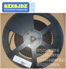5 PCS TPS2551DBVR TPS2551DRVR TPS2551QDBVRQ1 TPS2552DBVR 2551 CKK PIUQ 2552 TPS2551 TPS2551DRVT TPS2551Q TPS2552