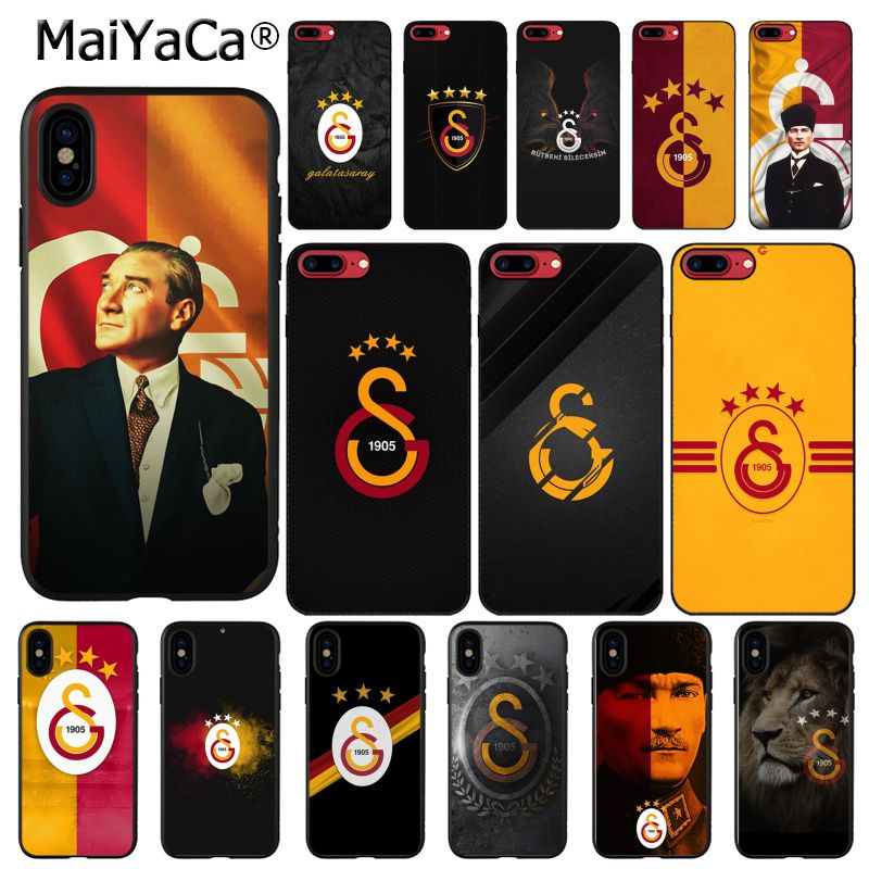Чехол для телефона MaiYaCa Turkey Galatasaray Mustafa Kemal atataturk для iphone 11 Pro 11Pro Max X XS MAX 6 6s 7 7plus 8 8Plus 5S SE XR