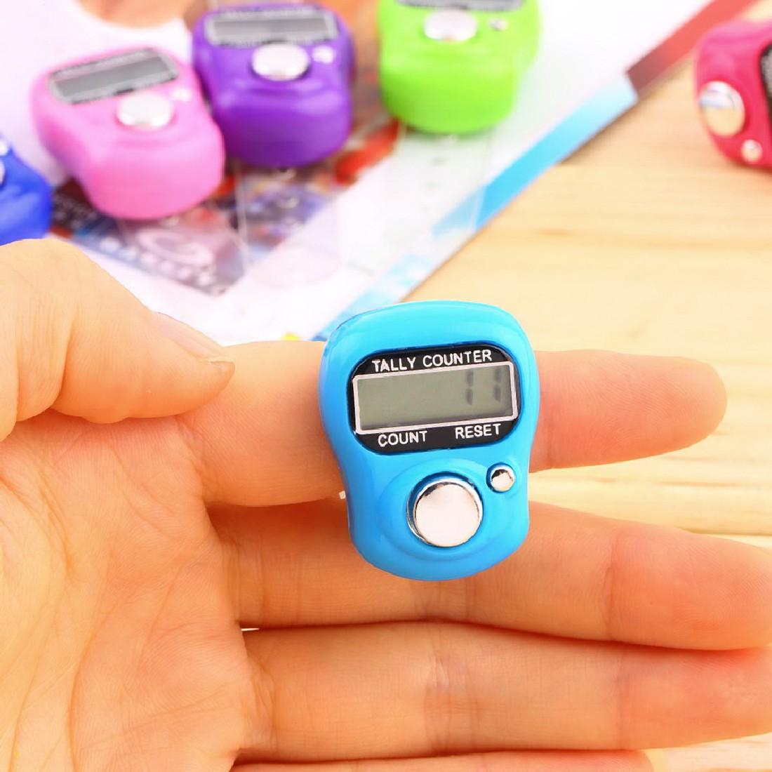 Модный 1 шт стежка маркер и ряд Палец счетчик ЖК электронный цифровой счетчик новый бренд
