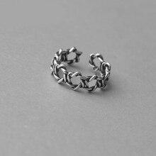 Personnalité Vintage argent couleur David étoile anneaux pour les femmes mode rétro Antique anneaux mariée mariage bijoux Anillos