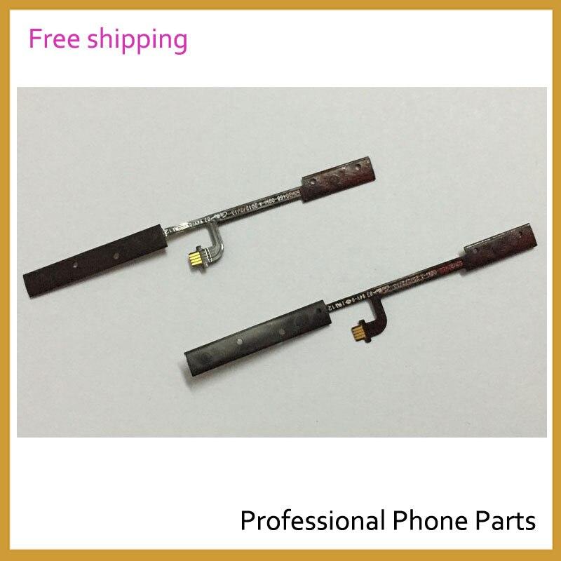 Pièces dorigine pour téléphone portable mise hors tension avec bouton de Volume câble flexible pour HTC One V T320e