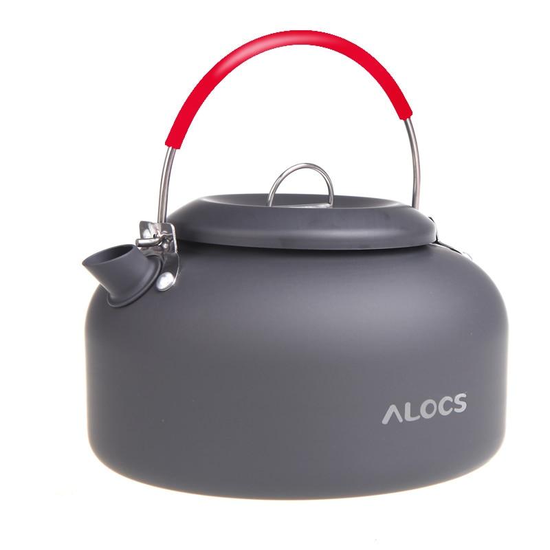 Чайник Alocs, походный чайник для пикника, кемпинга, воды, кофе, campismo, набор оборудования, CW-K03, 1,5 л, бесплатная доставка