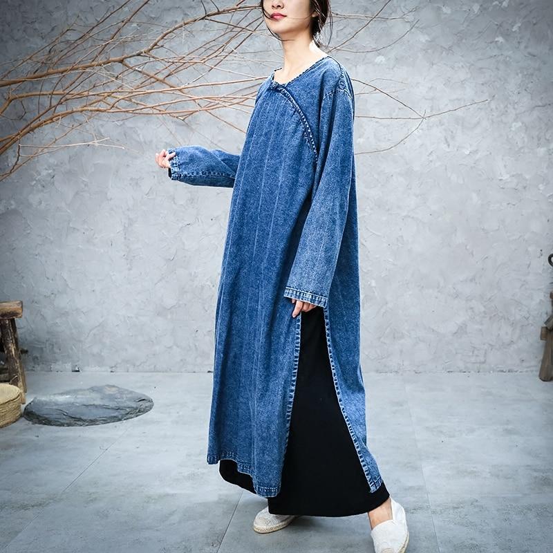 Платье женское, длинное, прямого силуэта, до середины икры, большого размера, S-XL, 2019