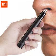 100% original Xiaomi Mini Nose Hair Trimmer HN1 Sharp Blade Portable Minimalist Design Safe trim Nose hair For Family Daily Use