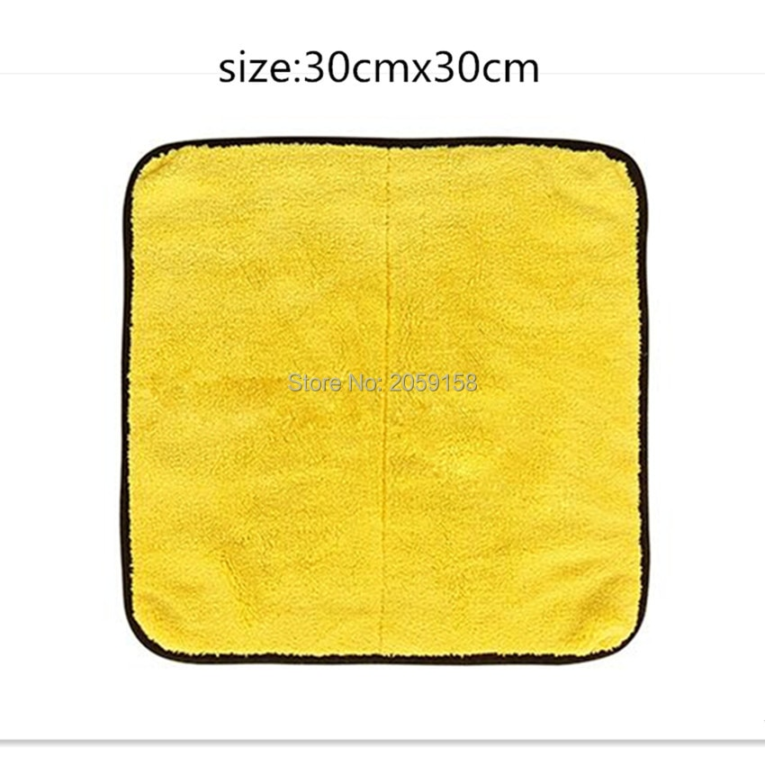 Car Wash Microfiber Towel Car Cleaning Drying Cloth for honda crf 450 nissan qashqai kia sportage 2018 golf mk4 renault clio 4