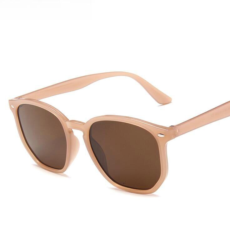 New Luxury Cat Eye Sunglasses Women Rivet Square Sun Glasses Female Leopard Frame Eyewar Retro Shade
