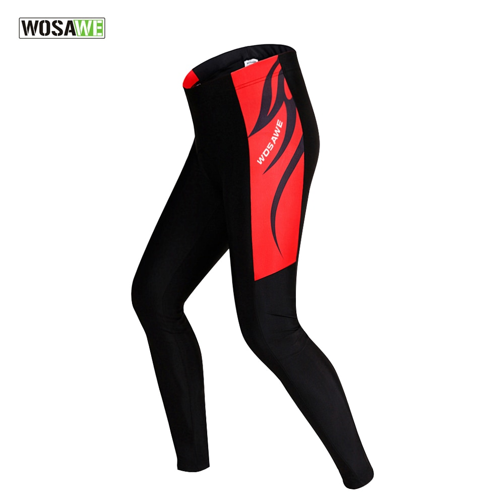 WOSAWE Wosawe Mtb pantalones de ciclismo hombres Fahrradhose Herren Pantalon Vtt impermeable reflectante Running Fitness Gym transpirable
