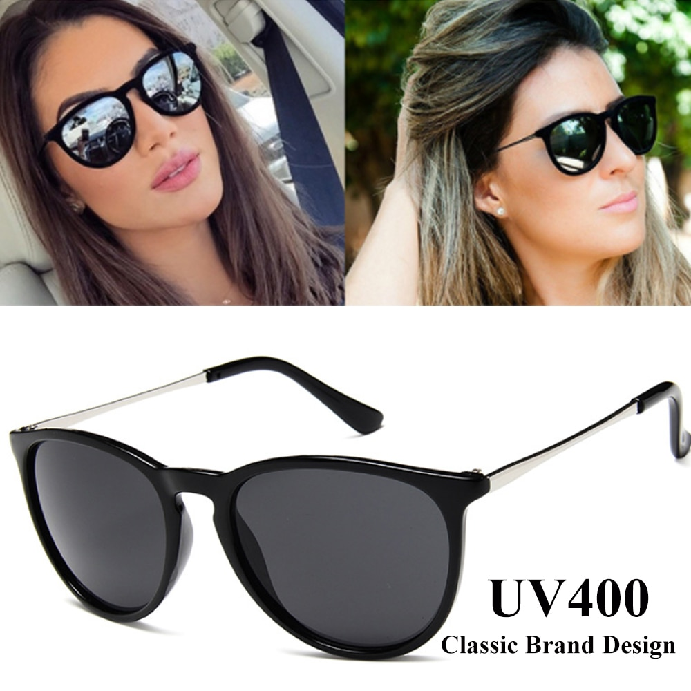 Vintage Cat Eye Sunglasses Women Brand Designer Oculos De sol Feminino Rays Protection Mirrored Sun
