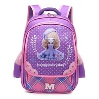 sweet girls school bags cartoon princess kid backpack children school backpack girl bag waterproof mochila escolares infanti