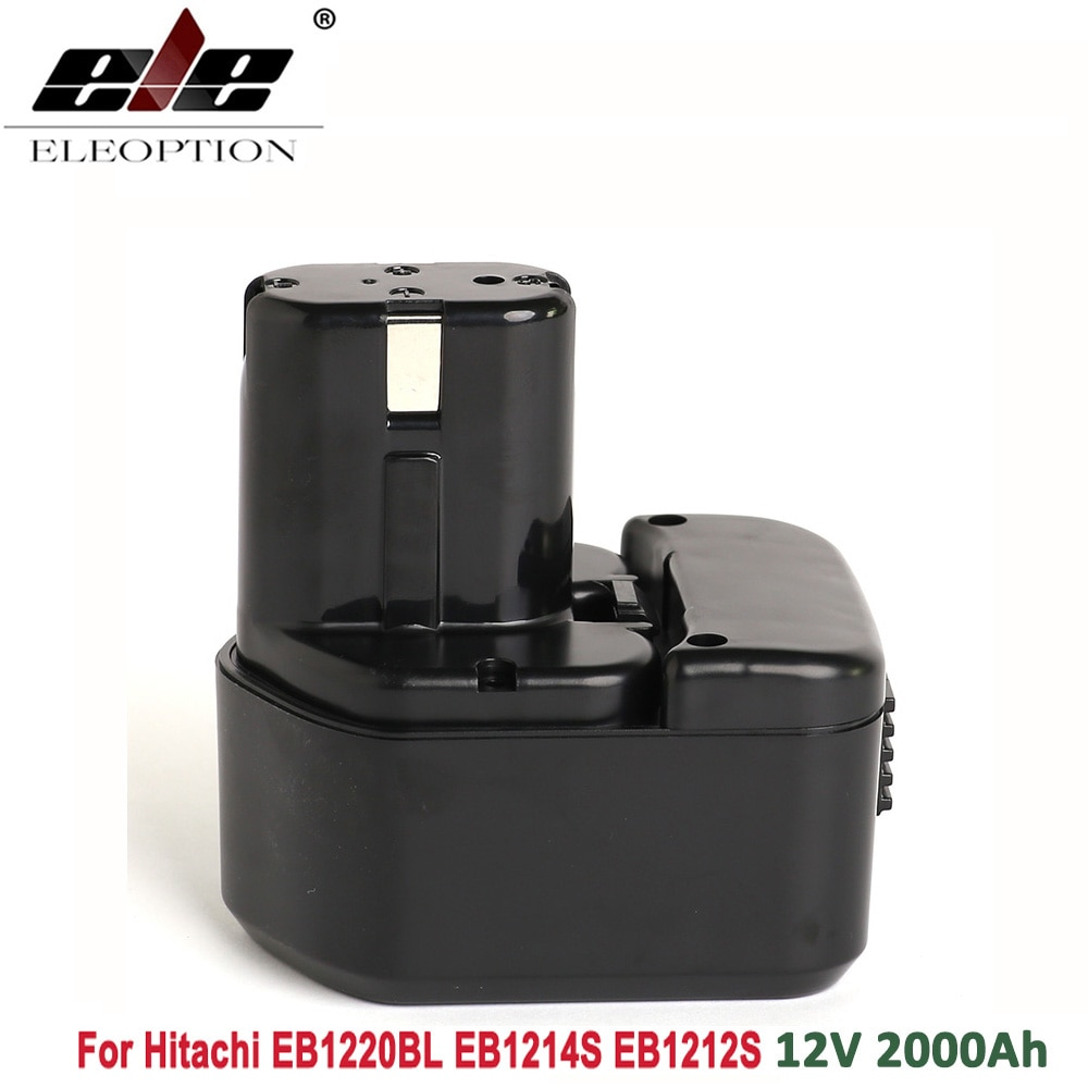 Аккумулятор ELEOPTION 12 В 2.0ач 2000 мАч для Hitachi EB1220BL EB1214S EB1212S WR12DMR CD4D DH15DV C5D