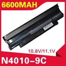 ApexWay 6600mAh batterie dordinateur portable 4T7JN J1KND Pour Dell Inspiron N5030R N5110 N7010 N7010D N7010R N7110 Vostro 1450 3450 3550 3750