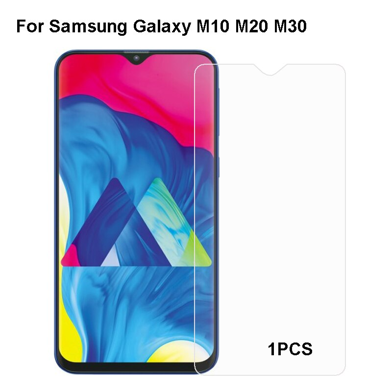 For Samsung Galaxy M10 M20 Tempered Glass Protective Film For Samsung Galaxy M30 Glass Screen Protec