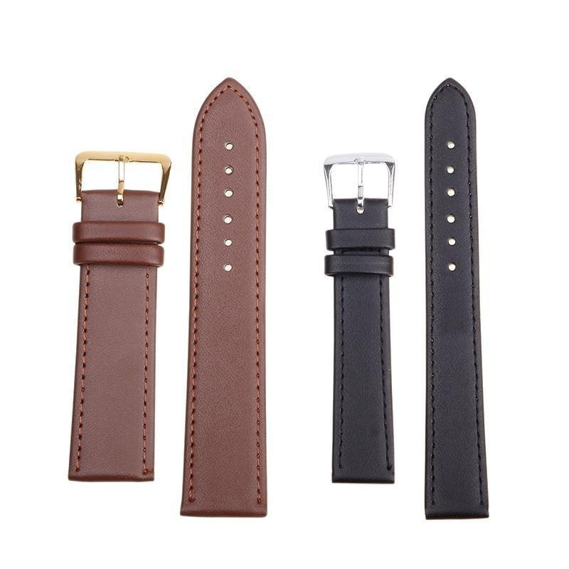 Soft Genuine Leather Watches Band Wrist Strap High Quatity Quick Release Watch Belts 10 Colors Women