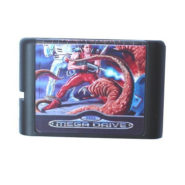 Sega, tarjeta de juego MD-Alien Storm para 16 bits, Sega MD, cartucho de juego, sistema Megadrive Genesis