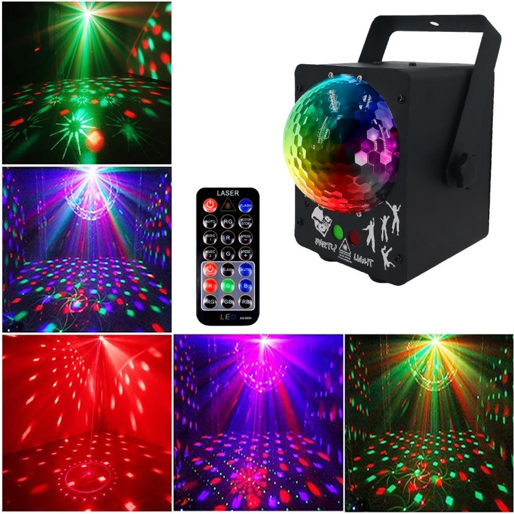 60 Patterns LED Magic Ball Lasers Light Stage KTV Bar Flash Colorful Holiday Lights JDH99