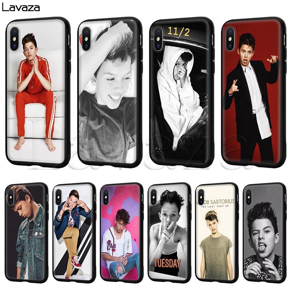 Lavaza Jacob Sartorius Silicone Soft Case for iPhone 11 Pro XS Max XR X 8 7 6 6S Plus 5 5S SE