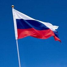 Drapeau National russe suspendu   Drapeau personnalisé, offre spéciale, bureau, activités, défilé, décoration de la maison, 90x150cm