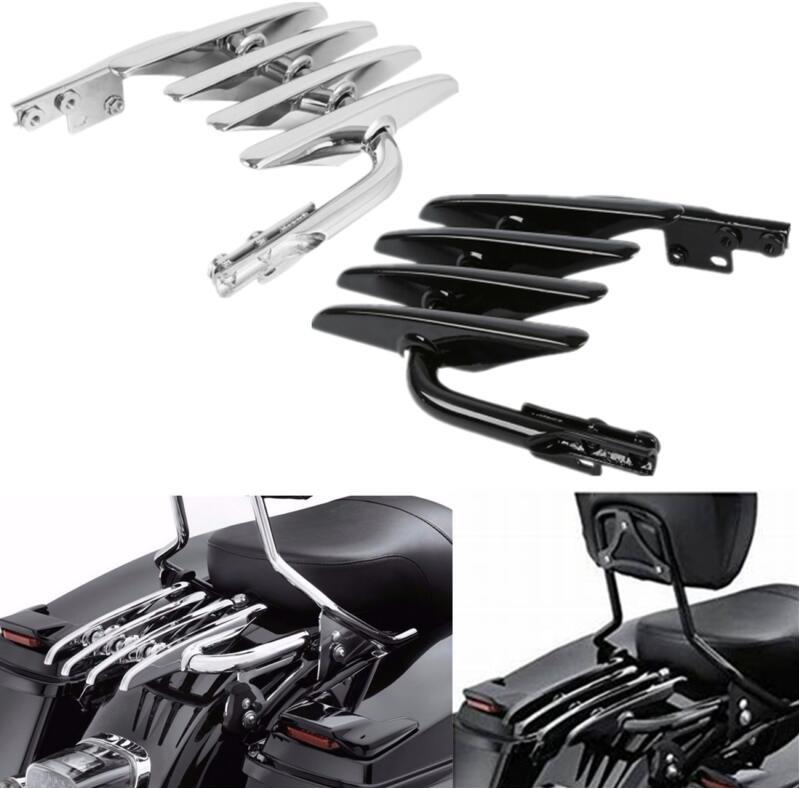 Мотоциклетная стелс багажная стойка для Harley Electra Street Glide Road King FLHX FLHT