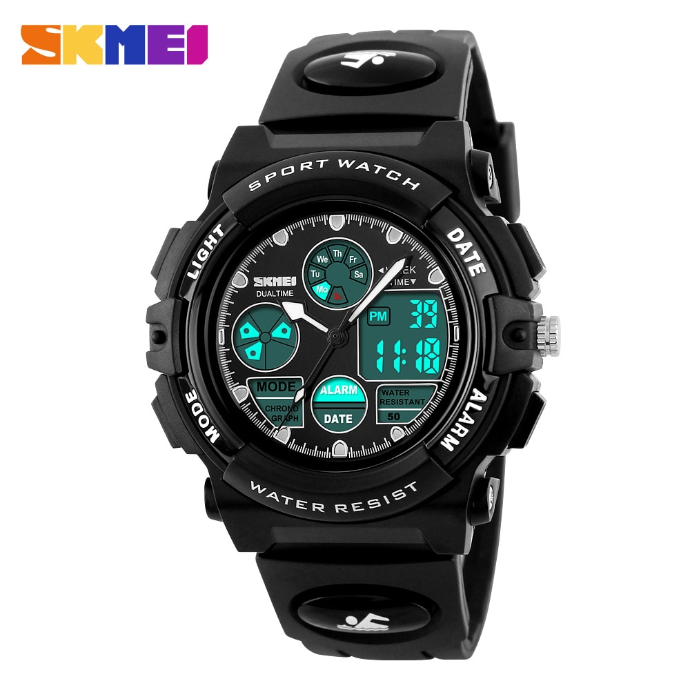 2019 Fashion Boys And Girls Outdoor Sports Army Watch Cute Luminous Childrens Cartoon Watch Student Holiday Kids Gift Moderate Price Children's Watches