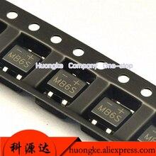 100 teile/los SMD Gleichrichter sop-4 brücke MB6F MB6S MB8F MB8S MB10F MB10S MB2S 500MA 200V 600V 800V 1000V