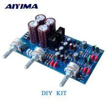 Aiyima HIFI préamplificateur tonalité panneau de contrôle kit de bricolage pour UK NAD3225 préampli discret basse fréquence Tweeter amp