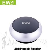 Ewa A110 Draagbare Speaker Voor Telefoon/Tablet/Pc Mini Draadloze Bluetooth Speaker Metallic Usb Input MP3 Speler Sport luidsprekers