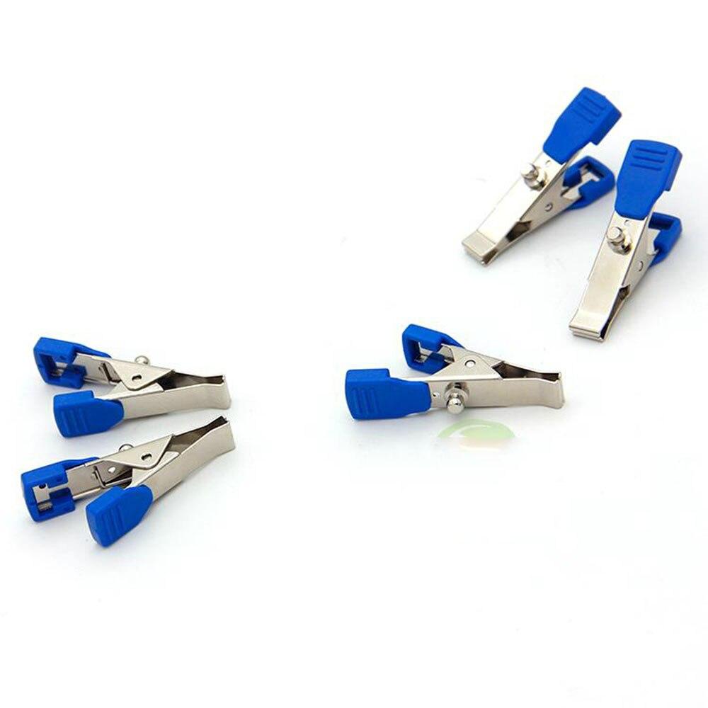 Pet monitor de ECG soporte de electrodo de ECG clip de metal plomo línea animal clip