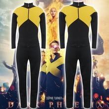 2019 Jean Grey Cosplay Costume Jacket Pants Uniform Suit For Men Women Child Halloween Carnival Costumes