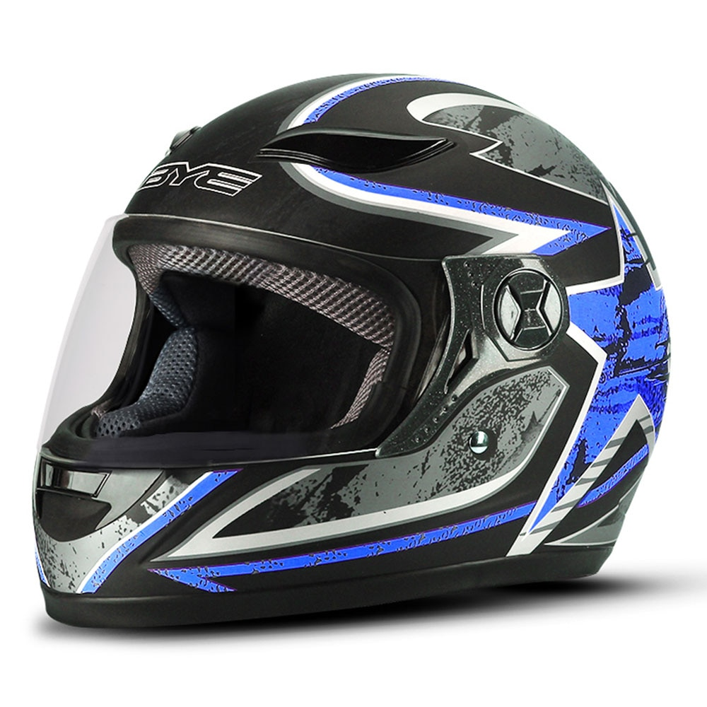 Bye capacete da motocicleta motocross homens rosto cheio capacete respirável material abs equitação moto capacete da motocicleta