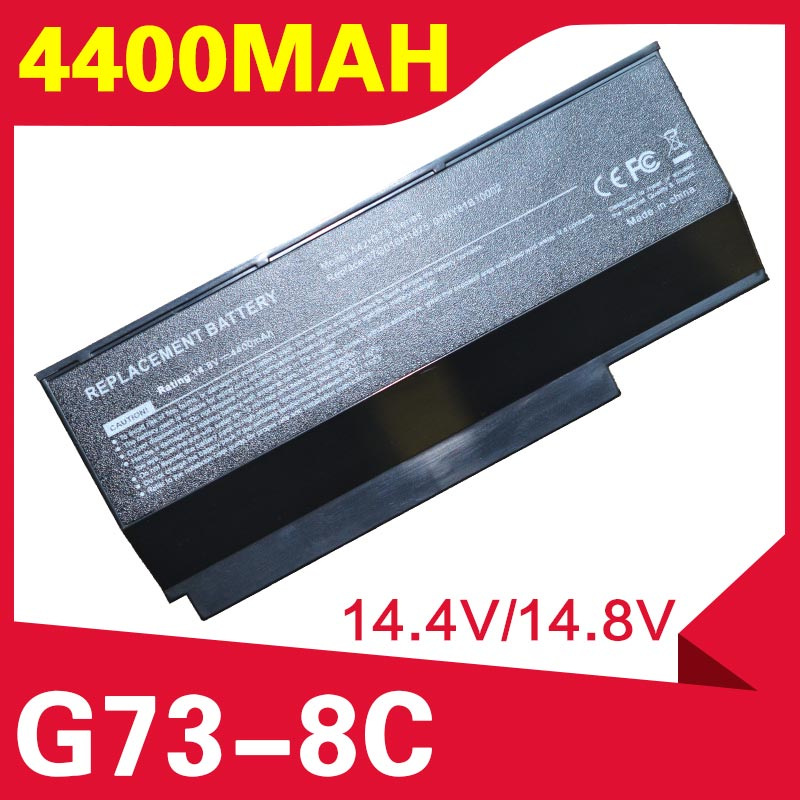 ApexWay 8 خلايا بطارية لابتوب أسوس A42-G73 G73S G53 G53J G53S G53SX G73 G73G G73J G73JH G73JW G53SW لامبورغيني VX7 VX7SX