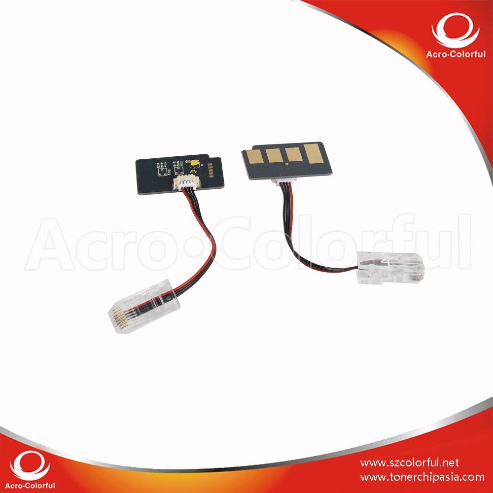 Tambor de Chip de Reset para Samsung CLX-9250ND CLT-R607/9350ND/9252NA/9258NA/9352NA/9358NA/9821/9822 DOM Chip com conector de linha