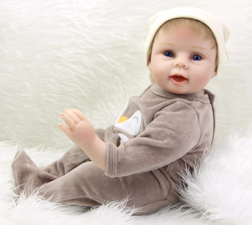 Lol Bebe reborn muñecas de juguete de silicona 22 pulgadas 55cm tacto suave niños regalo reborn bebés real recién nacido muñeca
