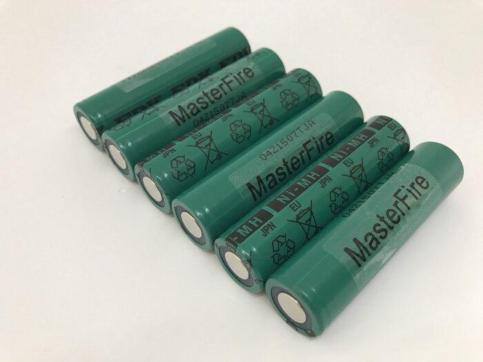 MasterFire 10 unids/lote nuevo auténtico Sanyo FDK 17670 4000mah HR-4/3AU Ni-MH 1,2 V batería recargable NiMH baterías célula