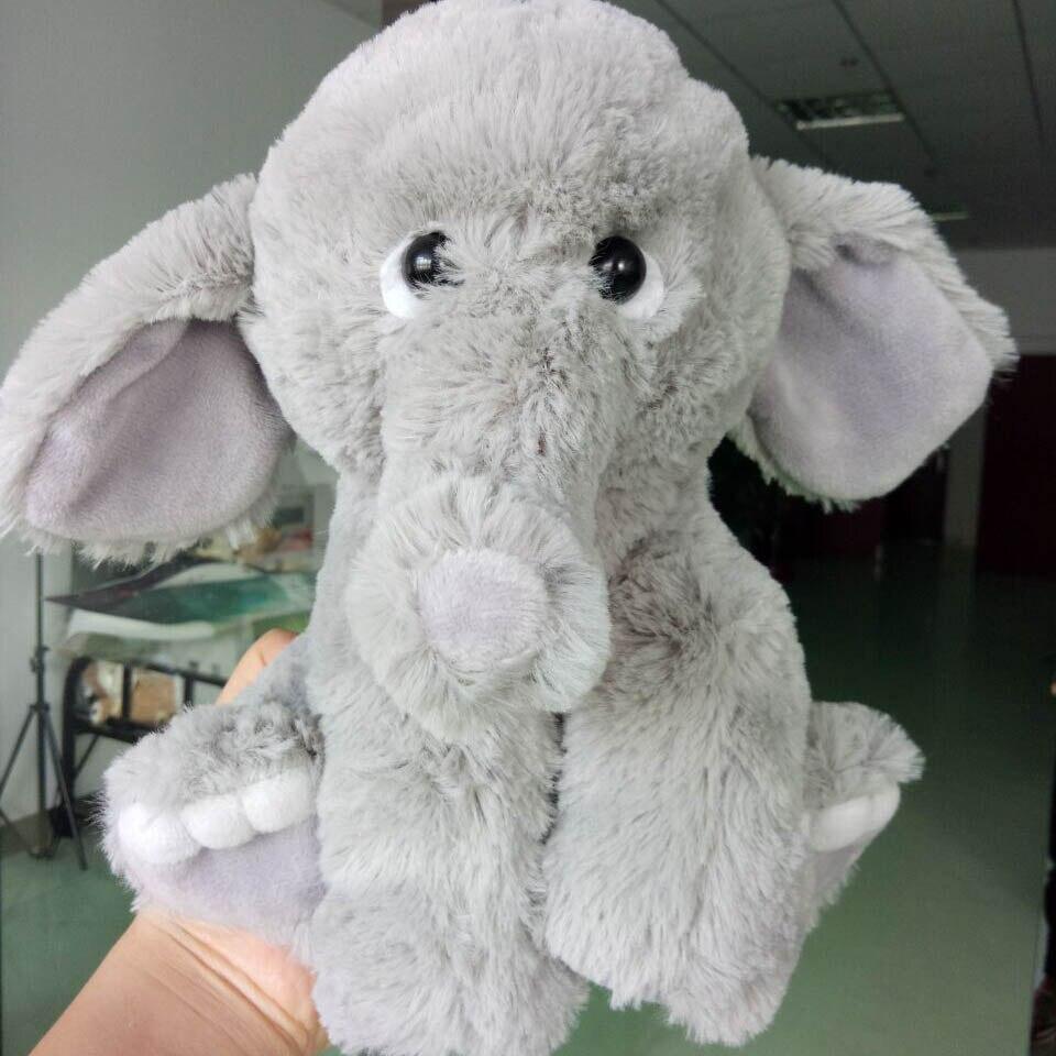 Novas arrvials Dos Desenhos Animados 25 cm Elefante De Brinquedo de Pelúcia Crianças boneca Conforto ABRAÇO Travesseiro Elefante de pelúcia Boneca Boneca de Presente de Aniversário Do Bebê para crianças