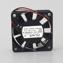 6CM double ball 6015 14V 0.13A 2406KL-09W-B40 server fan