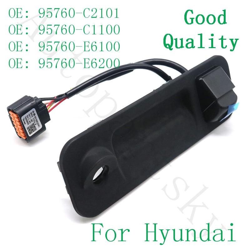 Alta Calidad 2015-2017 para Hyundai Sonata cámara de visión trasera con interruptor de maletero y cable 95760-C2101 95760 c2101 95760C2101
