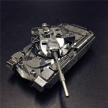MMZ MODEL NANYUAN 3D Metal Model seti JS-2 tankı Chieftain MK50 Tankı Montaj Modeli DIY 3D Lazer Kesim Modeli bulmaca oyuncaklar yetişkin için