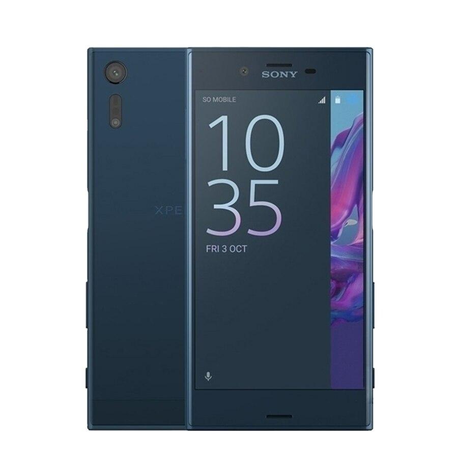 "Original new Sony Xperia XZ F8332 4G Mobile Phone 5.2"" 3GB RAM 64GB ROM Quad-core 23.0MP Camera Fingerprint Dual SIM Smart Phone"