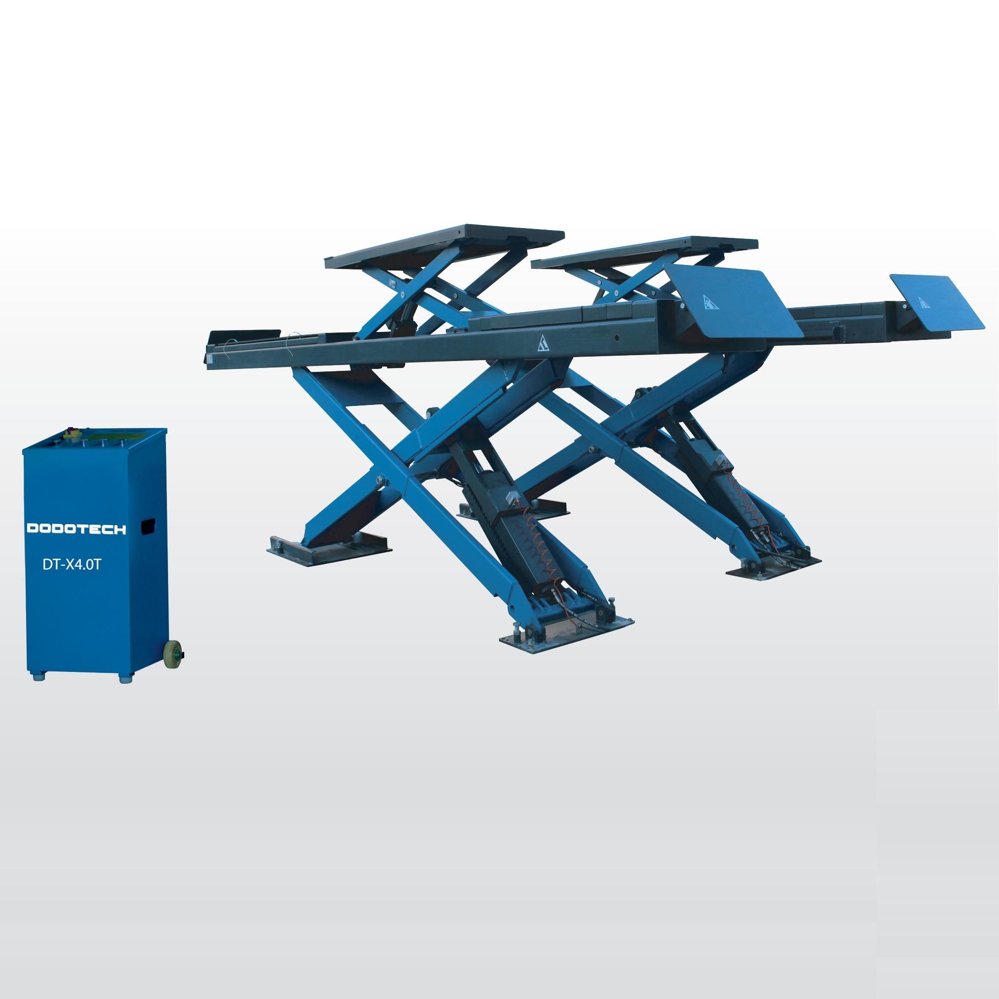 Elevador de Tijera para coche, alineación de elevación automática, plataforma de elevación media, rampa, herramienta de garaje, equipo de reparación de automóviles, máquina de elevador de vehículos