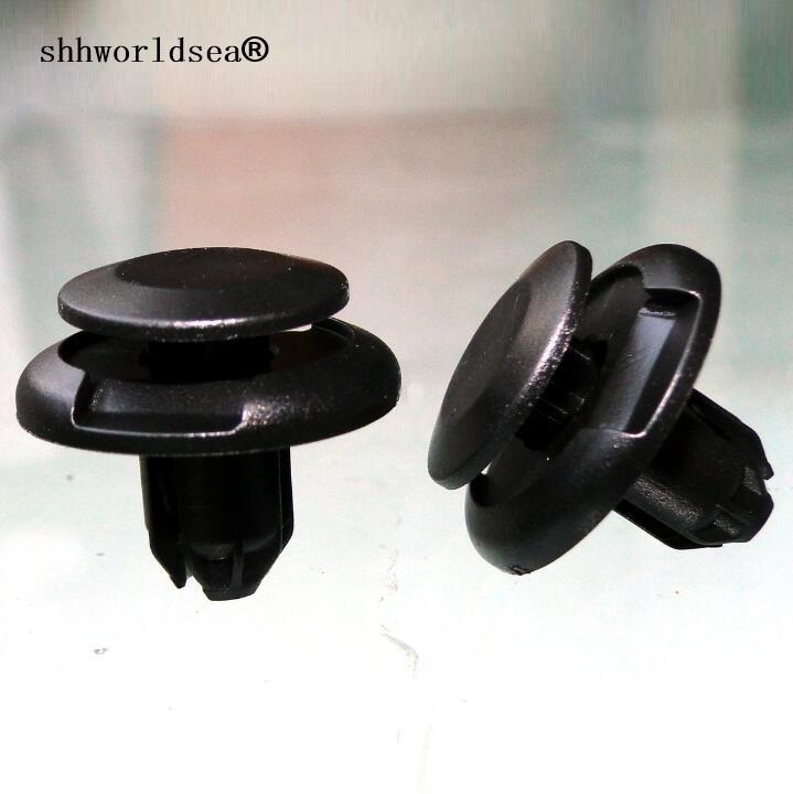 Shhworldsea guardabarros delantero/capucha retención Clip tornillo de plástico para coche auto clips para Toyota 90467-08217 para Land Cruiser