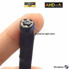 Caméra de vidéosurveillance AHD   Super Mini caméra de vidéosurveillance HD 960P intégrée en 940nm à infrarouge Invisible avec objectif 3.7mm