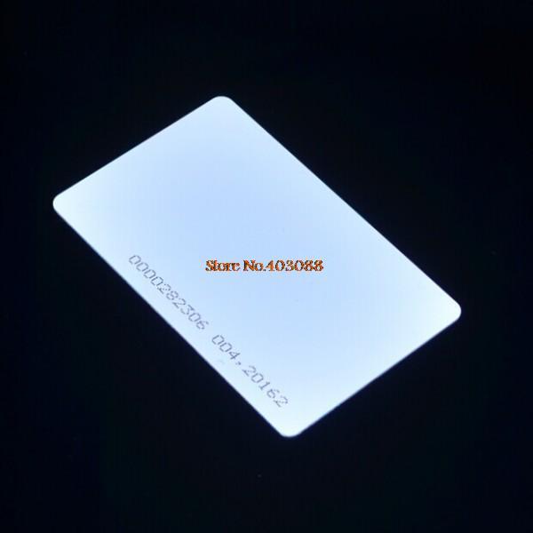 10PCS EM4100 125Khz RFID card compatible RDM630 for Arduin (ID card)