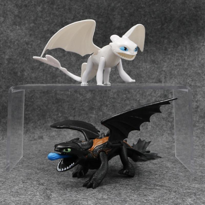 Фото 17 23 см Как приручить дракона икота Беззубик Фигурки игрушки для детей|Игровые