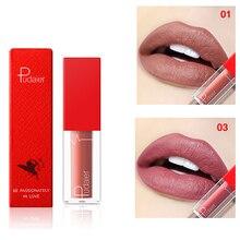 Pudaier nueva barra de labios mate de larga duración suave Natural Copa antiadherente Tinit mate labio Stick maquillaje impermeable para mujeres Batom mate