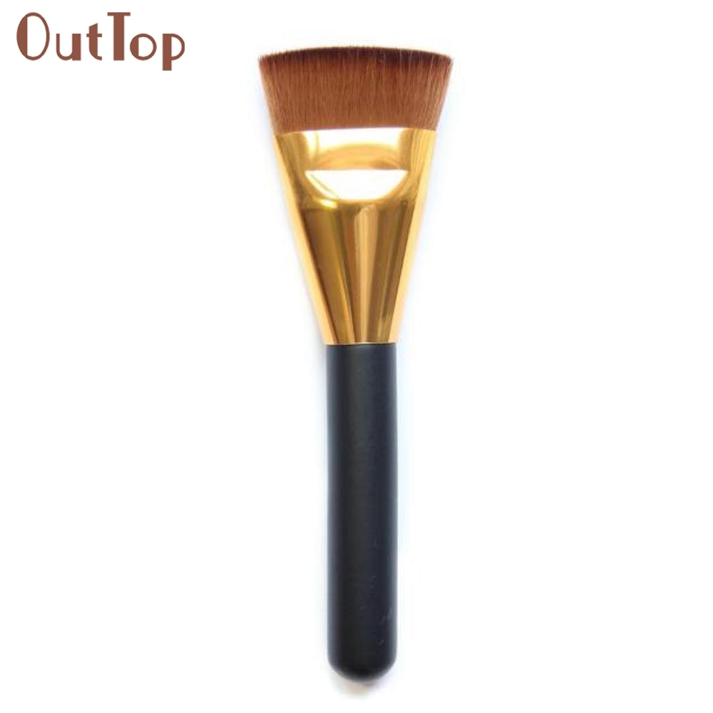 1pcs Professional Cosmetic Flat Contour Brush Face Blend Makeup Brush makeup brushes 0323B5Down