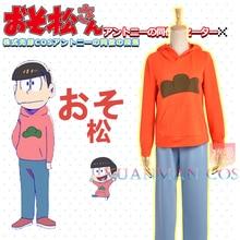 Manga Mr. Osomatsu osomatsu-kun Sextuplet Brothers Osomatsu Matsuno Sudadera con capucha pantalones Cosplay disfraz para adulto W0914-2