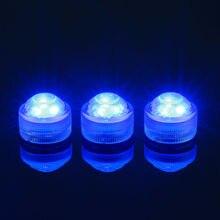 Verrassing Verjaardag Ideeën 20 stks/partij Romantische Waterdichte Dompelpompen LED Thee Licht Elektronische Kaarslicht voor Bruiloft